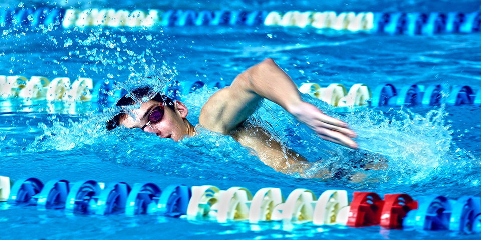 Compé0titions internationales natation
